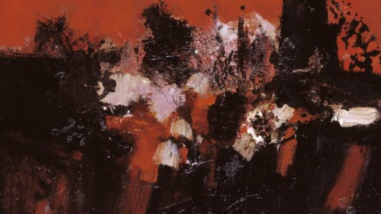 Denis Bowen - Crystallised Landscape (detail) - 1958 © The estate of Denis A. Bowen