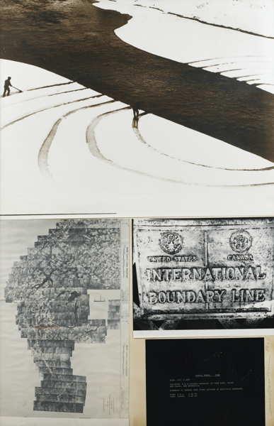 Dennis Oppenheim-Boundary Line No.2-1968