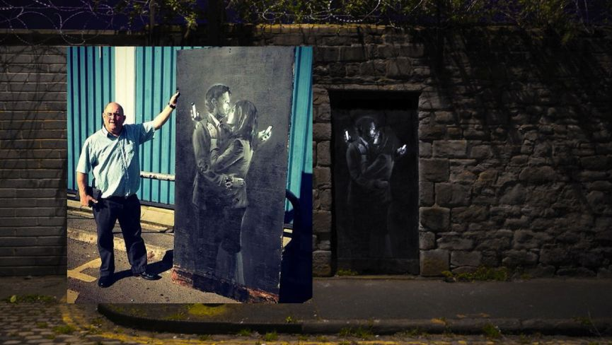 MM Contemporary Arts Sells Banksy's Mobile Lovers