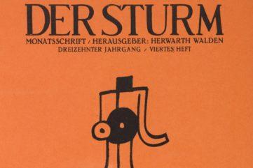 Flipping Through Der Sturm Magazine, a Gem of German Avant Garde