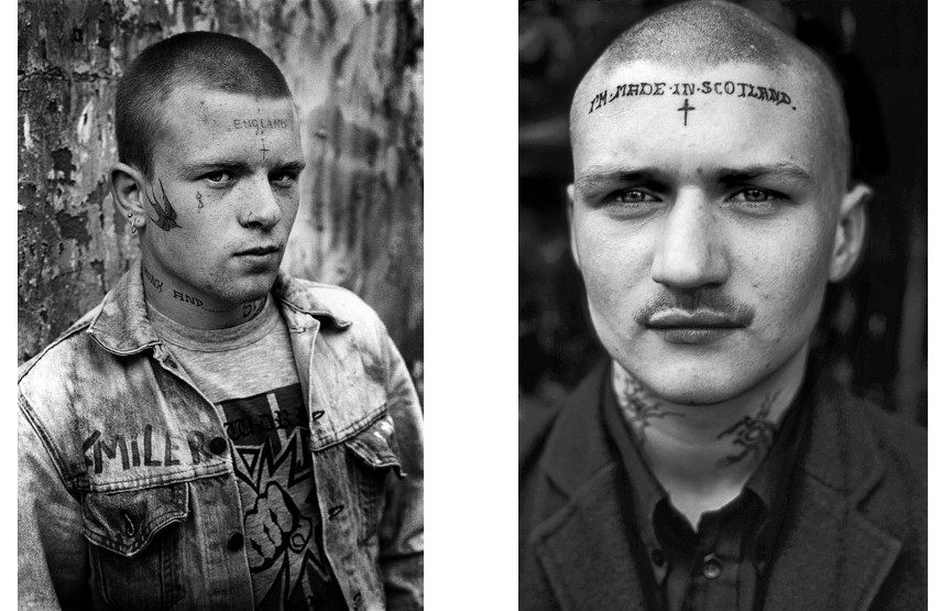Derek Ridgers - Smiler, 1984 (left), Tosh, 1983 (right) - The gallery and culture books fashion in London are close in 2014 - photographs of brown youth
