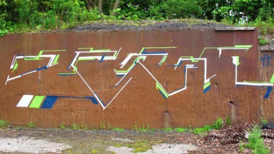 Derm graffiti - Copyright Derm
