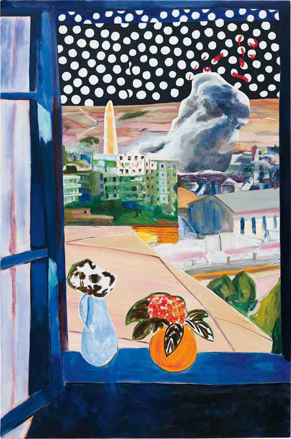 Dexter Dalwood - A View from a Window-2006