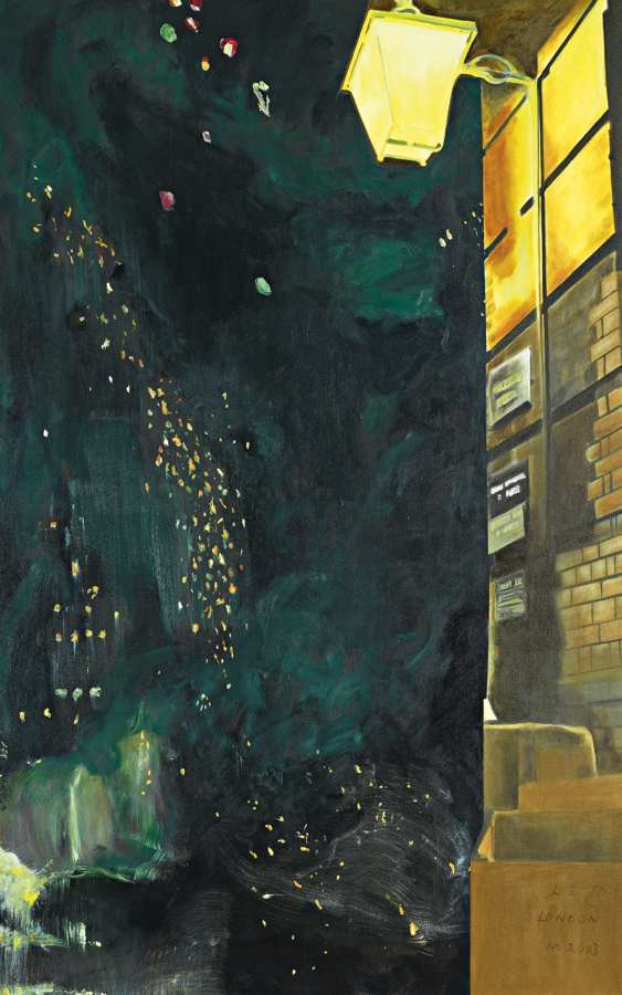 Dexter Dalwood - Oscar Wilde-2003