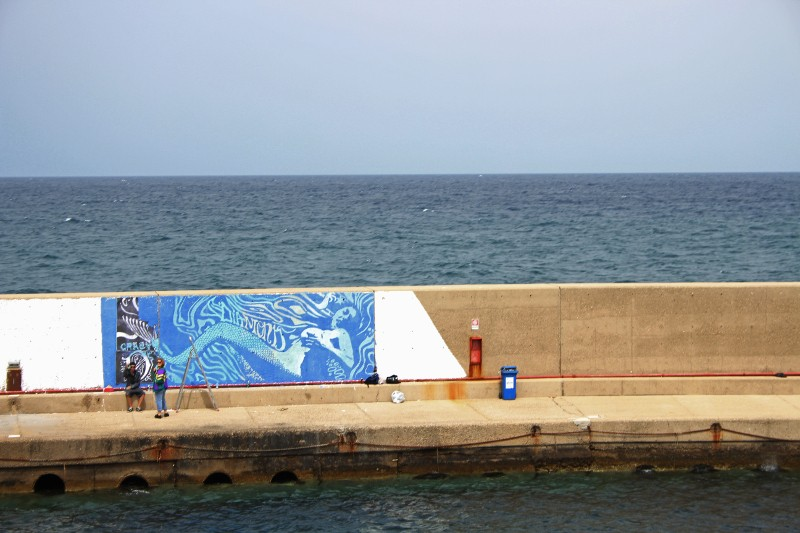 Diamond - Mermaid Island #3, Blue Flow Festival, Ventotene, 2015, photo credits - artist