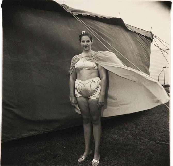 Diane Arbus-Girl In Her Circus Costume, Md-1970