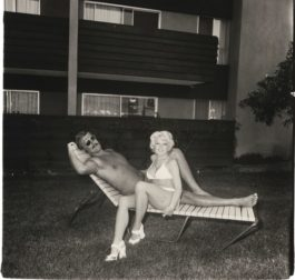 Diane Arbus-South Bay Singles-Couple On A Chaise Lounge-1970