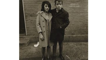 Diane Arbus - Teenage couple on Hudson Street, N.Y.C. 1963, 1963