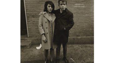 Diane Arbus - Teenage couple on Hudson Street, N.Y.C. 1963,1963