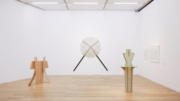 Diane Simpson Sculpture Drawing Prints Installation view