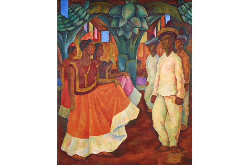 Diego Rivera art