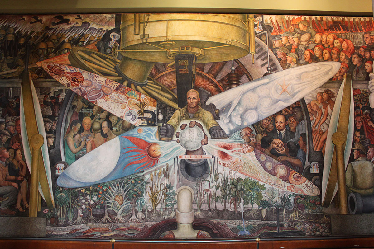 Mexican Muralism In Spanish