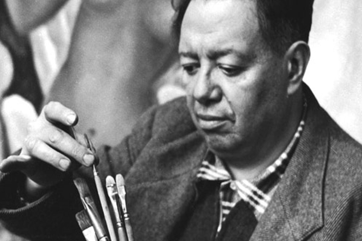 Diego Rivera art is important for mural work