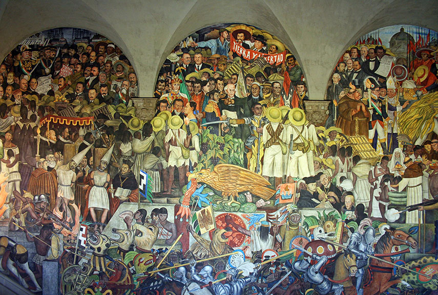 All you need to know about mexican muralism and muralists for Arte mural en mexico