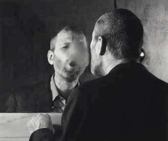Dieter Appelt-Der Fleck auf dem Spiegel, den der Atehauch schafft-1977