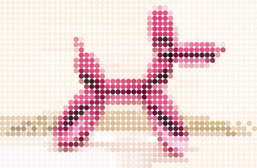 dimitri likissas balloon dog pink