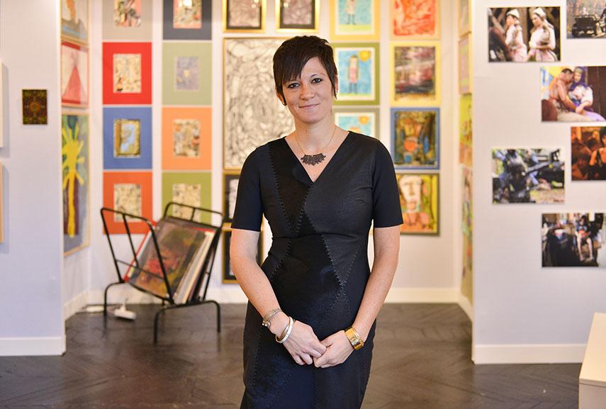 Director of Outsider Art fair Becca Hoffman