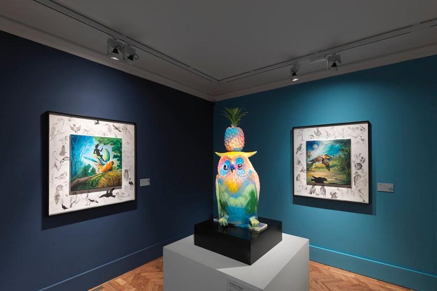 Djordje Ozbolt - hauser wirth acrylic gallery 2010, 2013, 2016, 2017
