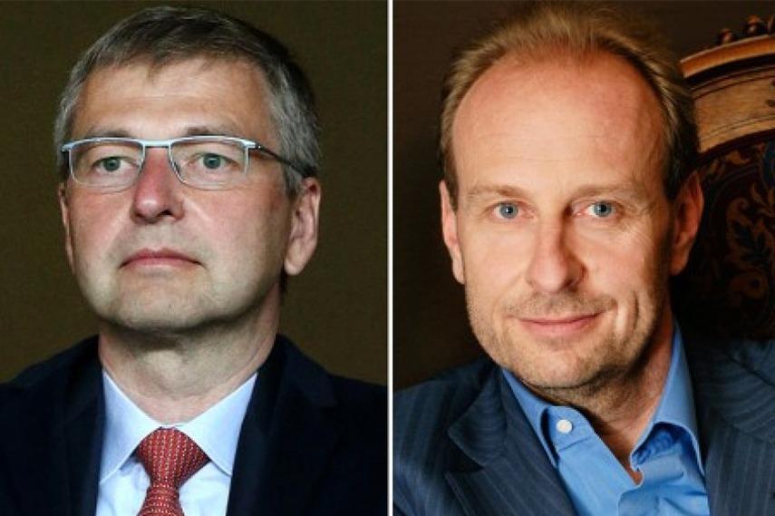 Dmitry Rybolovlev and Yves Bouvier