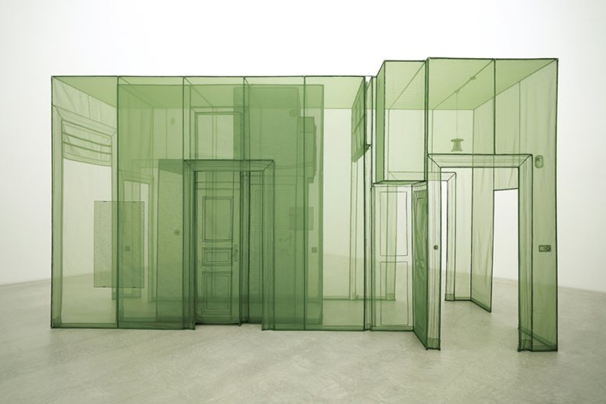 Do Ho Suh - Wielandstr 18, 12159 Berlin - 3 Corridors, 2011