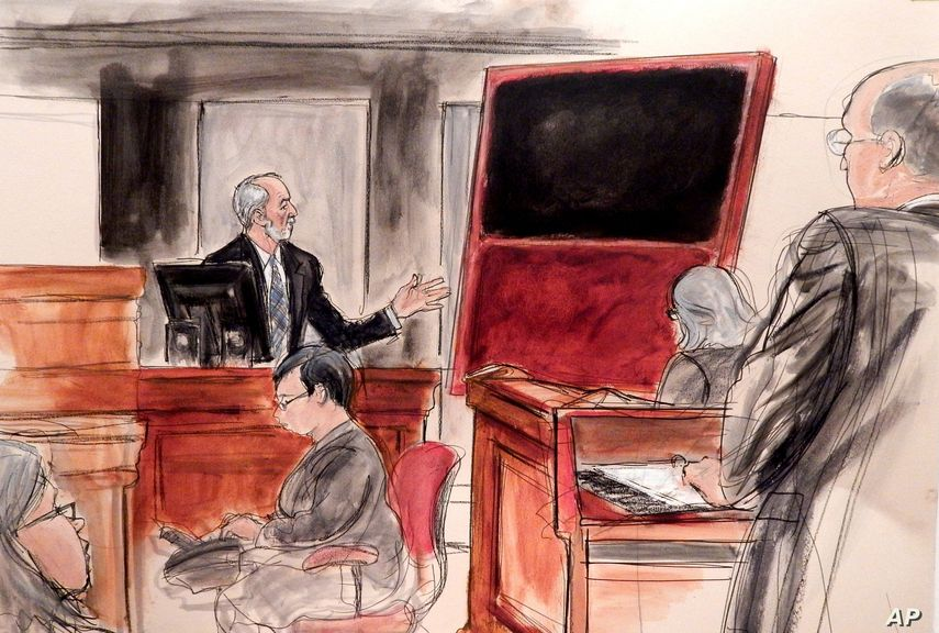 Domenico De Sole, chairman of Sotheby's board of directors at the New York trial against Ann Freedman, Michael Hammer, Rosales and the rest
