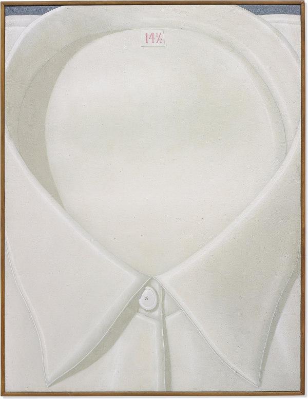 Domenico Gnoli-Shirt Collar Size 14 ½-1969