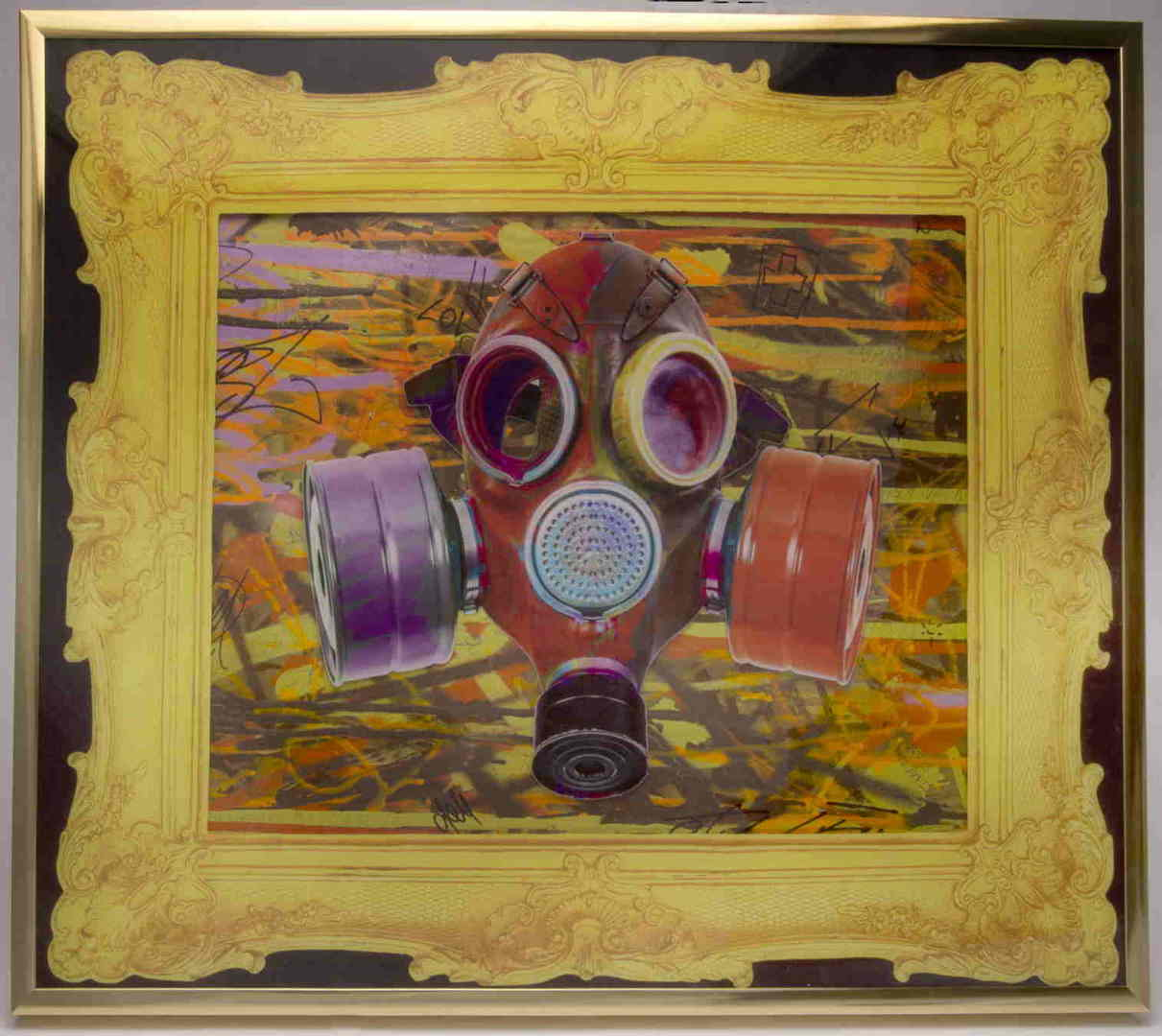 Dominic Vonbern-Gas Mask-2015