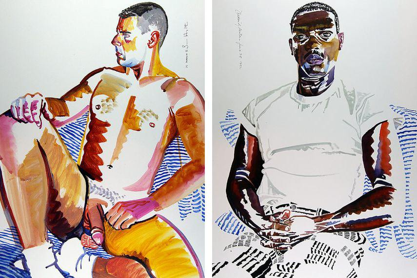 Don Bachardy Paintings