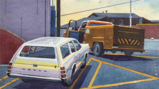 Don David - Dodge and Truck, 1980 (detail)