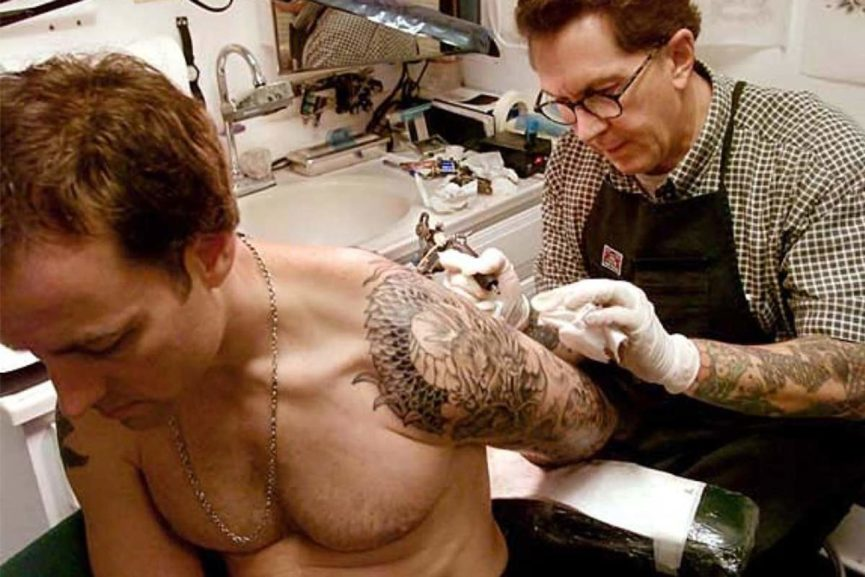 famous tattoo artists