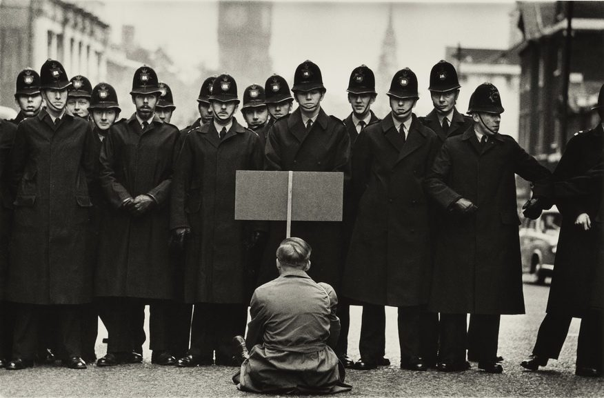 Don McCullin - Protester Cuban Missile Crisis Whitehall London