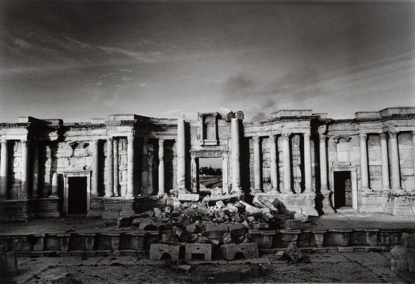 Don McCullin - The theatre on the Roman city of Palmyra