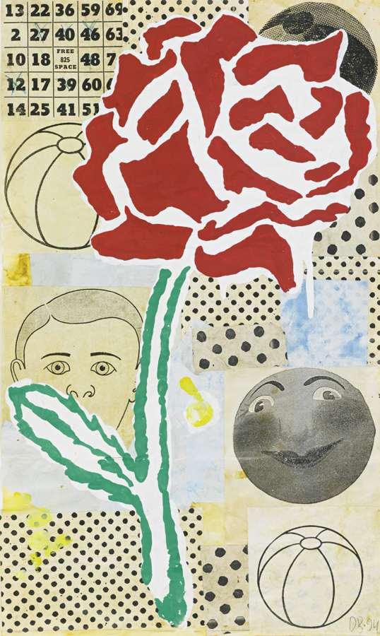 Donald Baechler-Sunday By The Bay Flower-1994