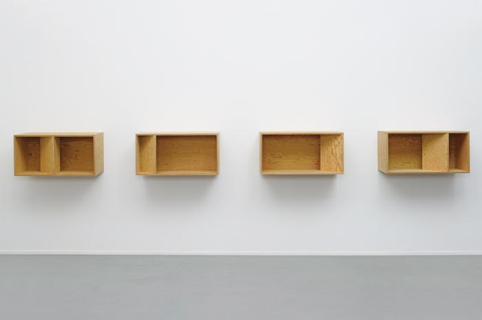Donald Judd-Untitled (4 Units; 89-49 Ballantine)-1989