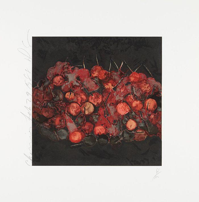 Donald Sultan-Cherries-1988