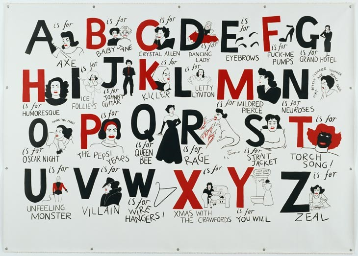 Donald Urquhart - A Joan Crawford Alphabet, 2007