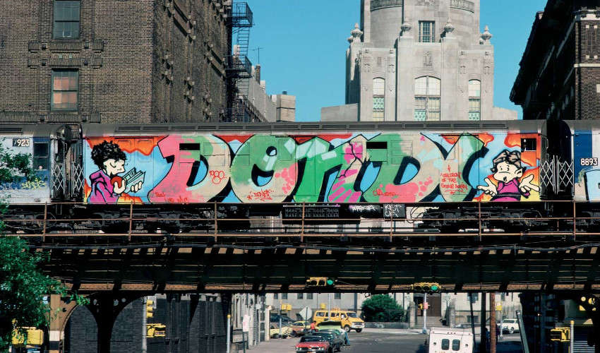 Dondi White - Graffiti on New York Subway