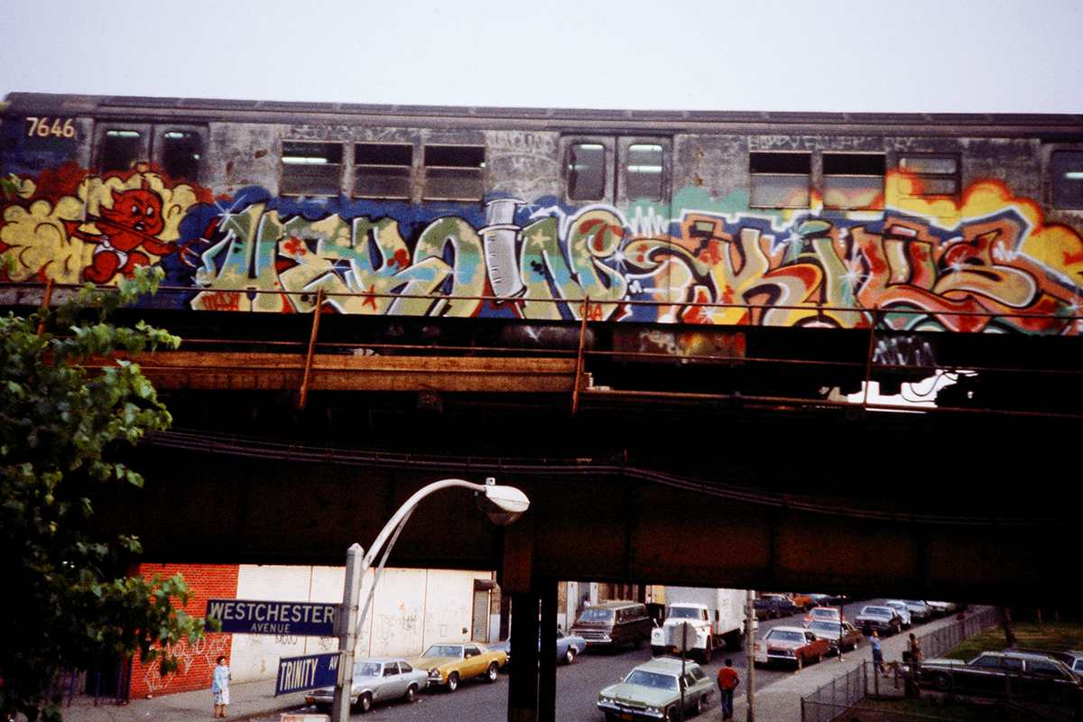 The History of Train Graffiti