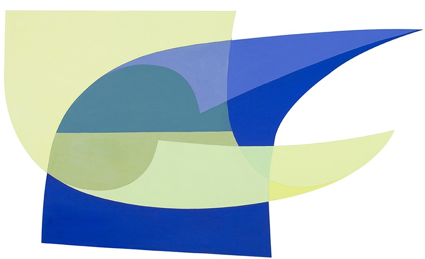 Dora Maurer - Durchdringungen no. 474, 2011 - image via artfacts.net