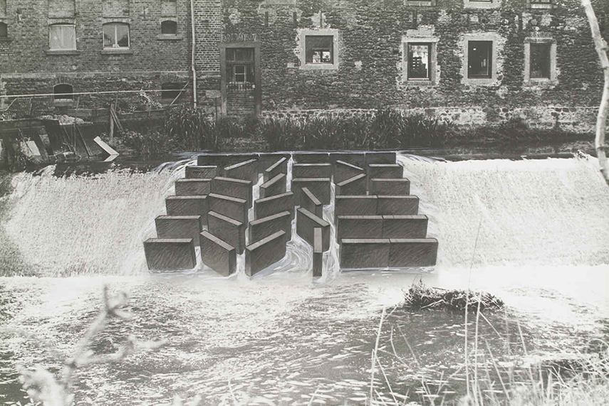 Dora Maurer - Sluices - Detail, 1982 - image via parisphoto.com