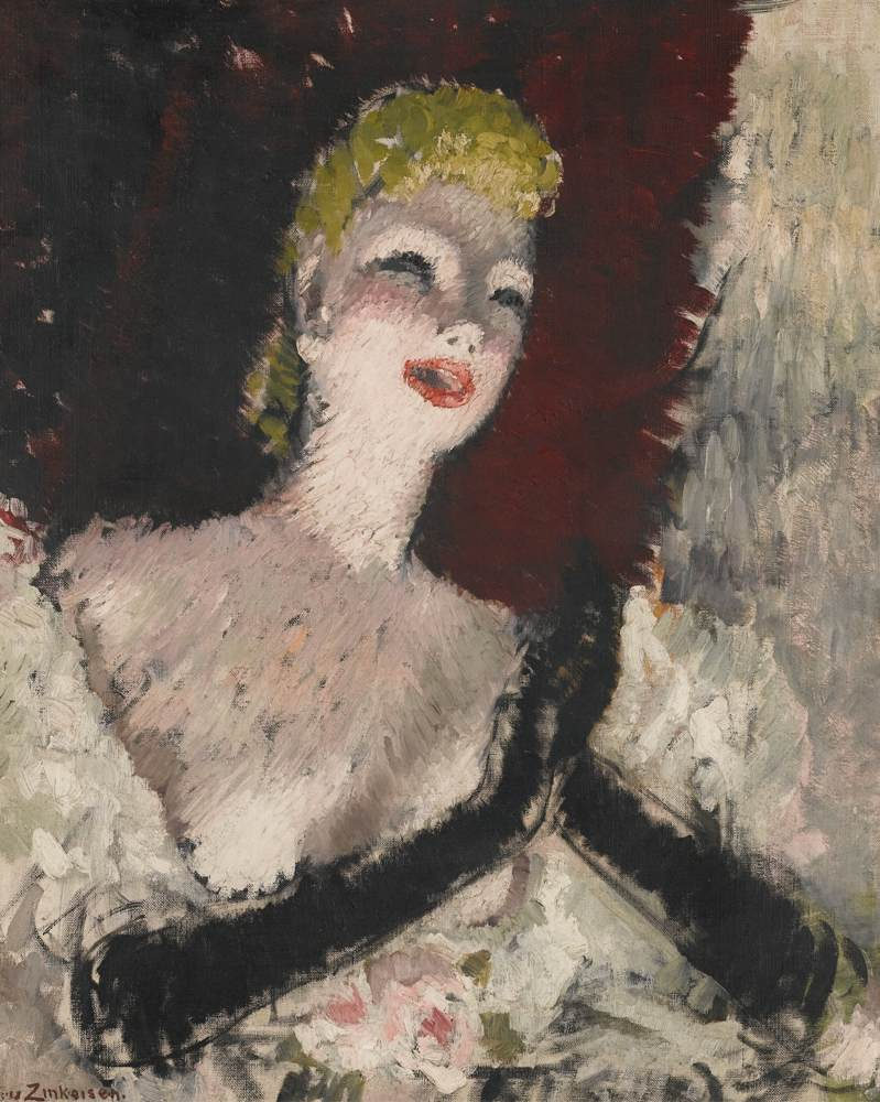 Doris Clare Zinkeisen-La Chanteuse-1935