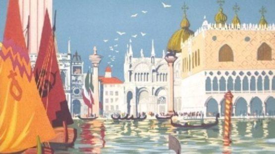 Dorival - Venise, Train Rapide Quotidien (detail)