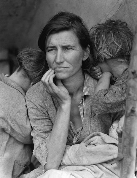 Dorothea Lange - Migrant Mother, 1936