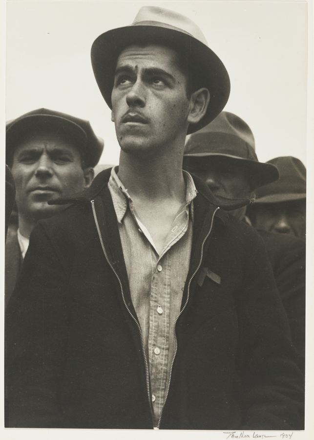 Dorothea Lange-San Francisco Waterfront The General Strike-1934