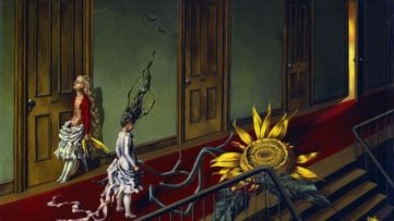 Dorothea Tanning - Small Night Serenade (Eine Kleine Nachtmusik), 1943; new research on surrealist arts