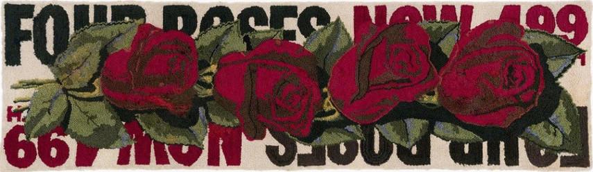 Dorothy Grebenak - Four Roses, 1964 - Image via pinterestcom