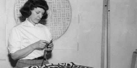 Dorothy Grebenak - Photo of the artist - Image via pinimg