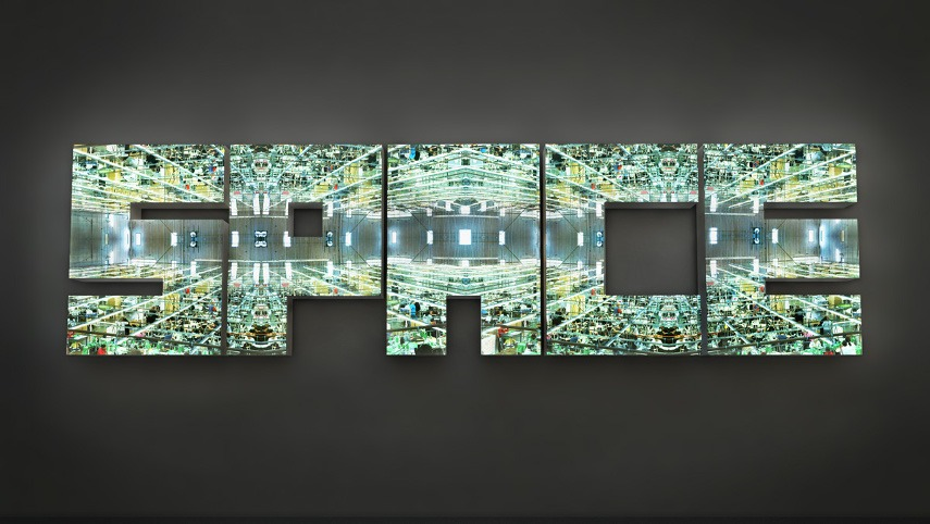 Doug Aitken - Space - Image via pinterestcom