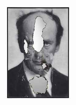 Douglas Gordon-Self Portrait of You + Me (Wilhelm Furtwangler 04)-2012