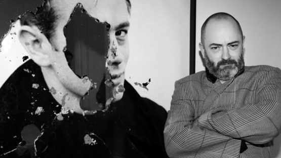 Douglas Gordon portrait - Photo by Saskia Lawaks